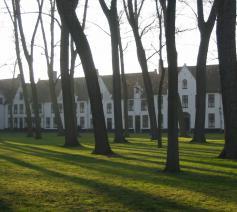 Het begijnhof van Brugge. © Reiskoffer/Wiki