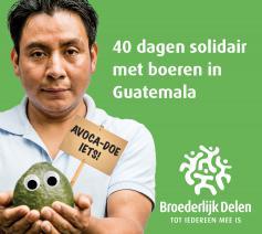 40 dagen solidair met boeren in Guatemala © Broederlijk Delen