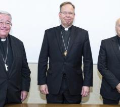 Het presidium van CCEE © Vatican Media