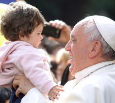 Paus Franciscus © SIR