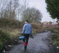 'Winter is coming' in Calais © Secours Catholique