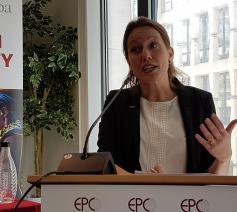 Maria Nyman, secretaris-generaal van Caritas Europa © Caritas Europa