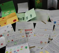 Bijna 500 leerlingen gaven gehoor aan de oproep © Caritas International