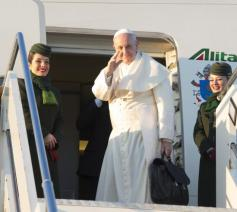 Paus Franciscus op reis naar Chili © Vatican Media/SIR