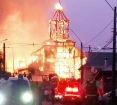 De procedure liep nog om de kerk als nationaal monument te erkennen © Regionale overheid van Chiloé