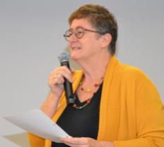 Voorzitter van het Interdiocesaan Pastoraal Beraad (IPB) Christa Damen © Jeroen Moens