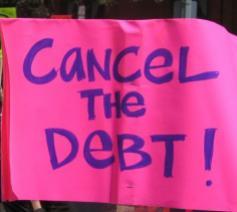 Cidse steunt het schuldmoratorium voor de armste landen © Friends of the Earth International - Creative Commons