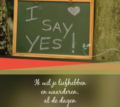 Brochure over het sacrament van het huwelijk in het leven van elke dag © Uitgeverij Licap