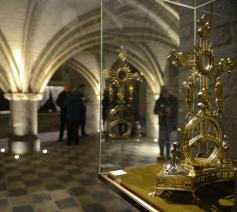 Heropening van de crypte in de basiliek van Halle. © Luc Gordts