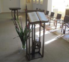 een stille plek in onze kapel © zrs bernardinnen