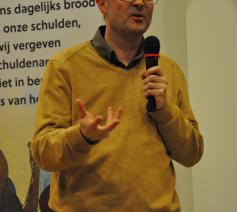 Luk Vanmaercke spreker op de Vastenconferentie © Daniël Duwyn