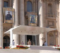 Heiligverklaring van pater Damiaan in Rome © Philippe Keulemans