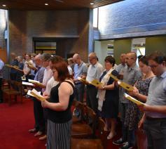 Slotviering opleiding Permanent Diaconaat en Pastoraal Werk aartsbisdom © Florin Vlad