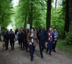 Aankomst bij OLV van Steenbergen  © Johannes 23 seminarie