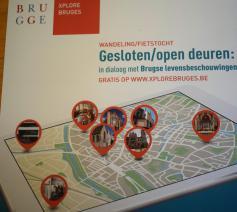 Xplore Bruges stelt nieuwe app voor: gesloten/open deuren © Inge Cordemans