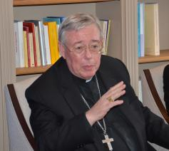 Mgr. Jean-Claude Höllerich, jezuïet, aartsbisschop van Luxemburg en voorzitter van de COMECE © Hellen Mardaga