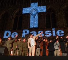 In 2016 werd de Passie opgevoerd op Paasmaandag in Ieper. © Kurt Desplenter