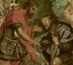 De verzoening van Jacob en Ezau © Public Domain