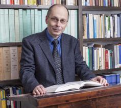 Professor Theodor Dieter © Instituut voor Oecumenisch Onderzoek, Straatsburg