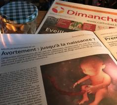 Christophe Herinckx waarschuwt in Dimanche, de Franstalige pendant van Kerk & Leven, vorige week al voor de plannen van bepaalde politieke partijen om de abortuswetgeving andermaal op te rekken © Benoit Lannoo