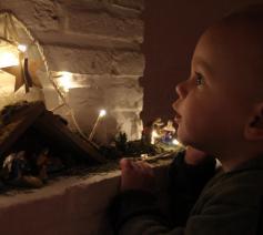 Elke week een beetje meer licht op weg naar Kerstmis. © Jessica De Haene