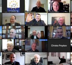 Online overleg van Europese kerkleiders © COMECE