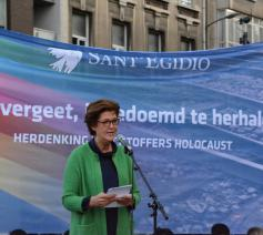Voorzitter Hilde Kieboom © Sant'Egidio