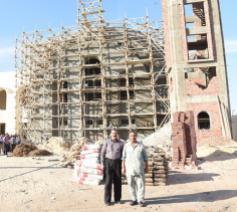 Een nieuwe kerk voor 21 Koptische martelaren © Fides