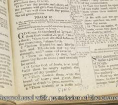 Een blik in Elvis' Bijbel. © YouVersion / website Bible.com