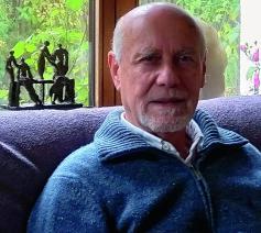 Emeritus hoogleraar ethiek Luk Bouckaert  © Liza Cortois