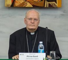 CCEE-voorzitter kardinaal Erdö © SIR