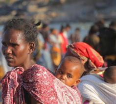 De oorlog in Tigray heeft een enorme vluchtelingenstroom op gang gebracht. © UNHCR - Hazim Elhag