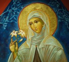 Heilige Clara van Assisi © www.franciscaansebeweging.nl