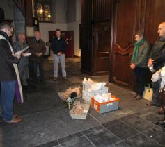 Op 3 november werden er mastellen en brood gewijd bij het feest van Sint-Hubertus
