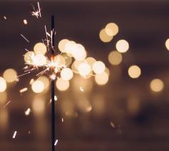 Nieuwjaarswensen © pexels.com