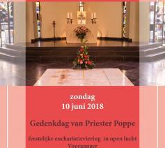 Feestdag zalige priester Poppe