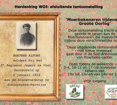 Moerbekenaren tijdens de Groote Oorlog