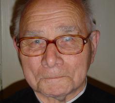 Pastoor-emeritus André Bracke  © (c)Marcel De Bolle