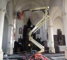 Kerk Kemzeke werken 02