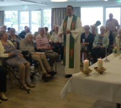 Afscheid pastoor Luc in WZC Zoetenaard