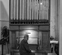 Het nieuwe orgel in de Sint-Barbarakerk van De Hoek