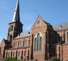 De kerk van Dworp