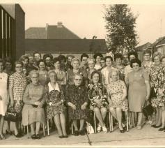 De kernleden bij de viering van 20 jaar KAV in 1968 © Archief Femma