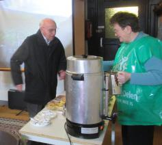 Koffiestop in OLV parochie © MV