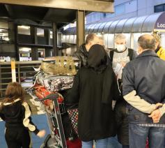 Gisteren vrijdag zijn 24 erkende Syrische vluchtelingen op Zaventem geland, het resultaat van een samenwerking tussen Fedasil & Caritas International © Fedasil