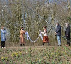 De inhuldiging van de nieuwe troostplek in Deinze © Ferm/Artifix