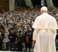 Wereldwijd 1,34 miljard katholieken (2020) © Vatican Media