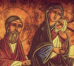 De Heilige Familie © Fides