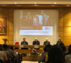 Internationaal Forum 'Jongeren in actie in een synodale Kerk'. © Sien Callebaut