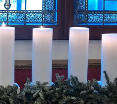Vier adventskaarsen
